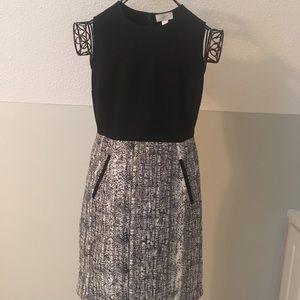 LOFT Professional Black dress with pockets